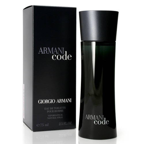 Armani Code Giorgio Armani для мужчин 75ml