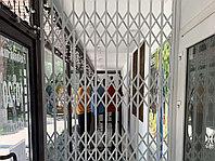 Раздвижные алюминиевые решетки