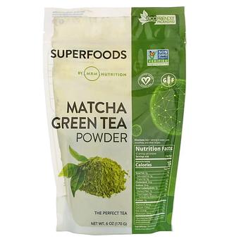 MRM, Зеленый чай матча в порошке, 170 г (6 унций)