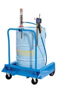 Набор для распределения стеклоочистительной жидкости с колесами для бочек 180-220 л Meclube 029-1390-000