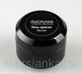 Гель-краска Monami WHITE, 5 гр (белая без липкого слоя)