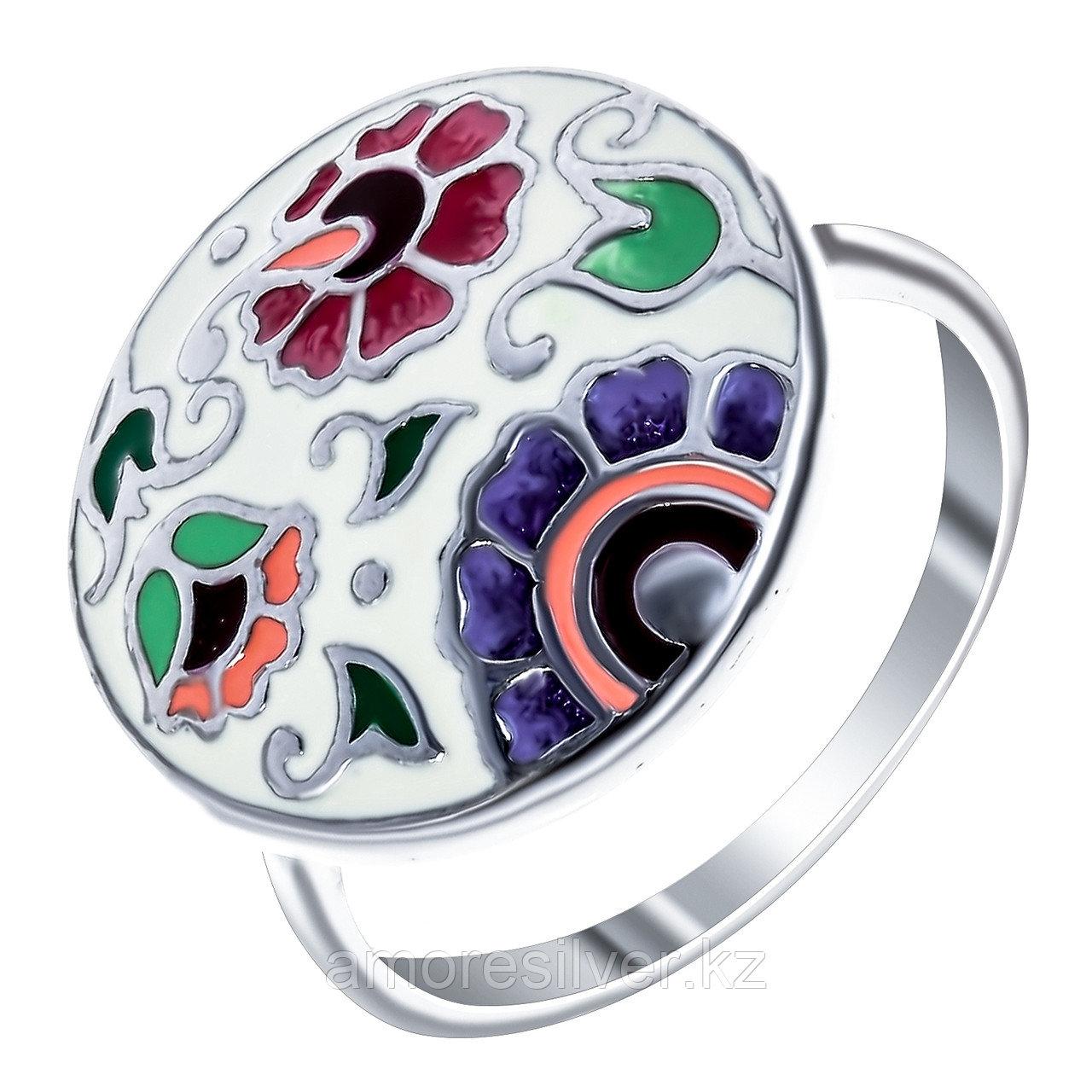 Кольцо Красносельский ювелирпром серебро с родием, без вставок,  3627000331-4