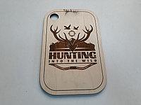 """Подарочная разделочная доска """"Hunting""""! Отличный презент для настоящих мужчин! Kaspi RED. Рассрочка."""