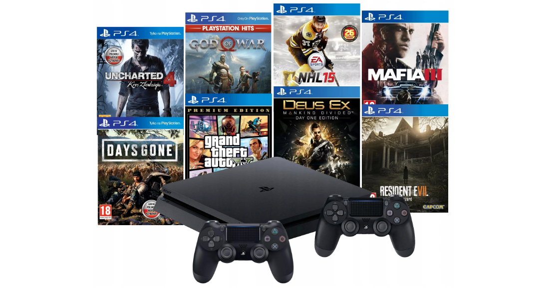 Консоль Sony PS4 Playstation 4 Slim 500 ГБ