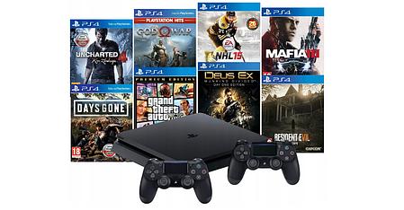 Консоль Sony PS4 Playstation 4 Slim 500 ГБ, фото 2