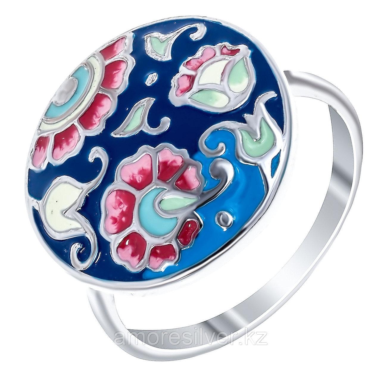 Кольцо Красносельский ювелирпром серебро с родием, без вставок,  3627000331