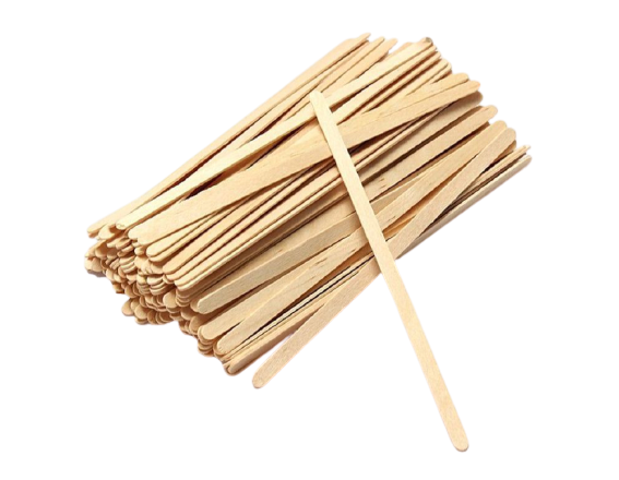 Размешиватель деревянный прямой 140мм (1000 шт в упак)
