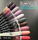 Гель лак BlooMax №63 с ароматом клубники, 12 мл, фото 2