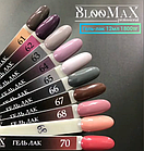 Гель лак BlooMax №66 с ароматом клубники, 12 мл, фото 2