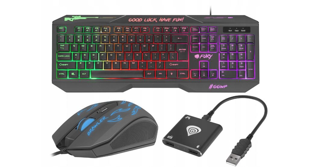 Клавиатура и мышь для адаптера PS4 + Tin 200 Genesis