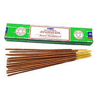 Аромапалочки Satya Аюрведа, пыльцевые (Ayurveda) 15 грамм