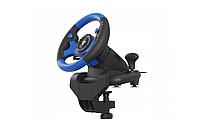 Руль для ПК PS4 XOne Vibration Gears Pedals, фото 2