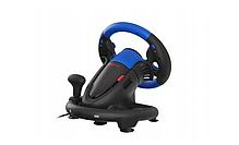 Руль для ПК PS4 XOne Vibration Gears Pedals, фото 3
