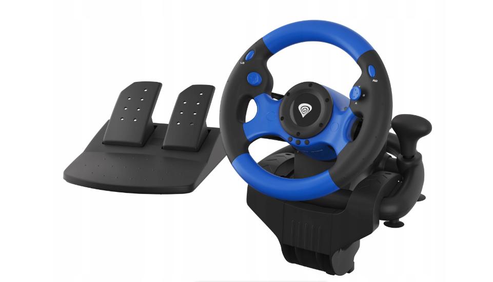 Руль для ПК PS4 XOne Vibration Gears Pedals