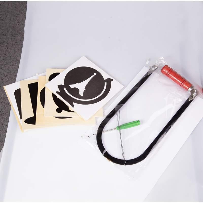 Детский игровой набор для выпиливания лобзиком деревянные узоры модель EW80069R - фото 3