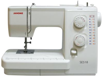 JANOME SE518  швейная машина