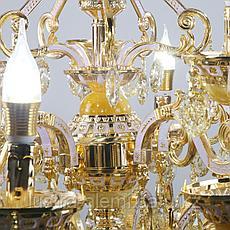 Люстра Классика 8825/10+5 Gold, фото 3