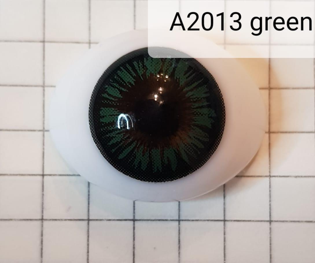 Контактные линзы A2013 Green -2.25 - фото 2