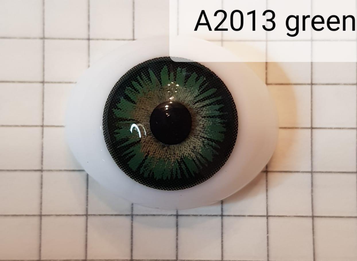 Контактные линзы A2013 Green -5.00 - фото 3
