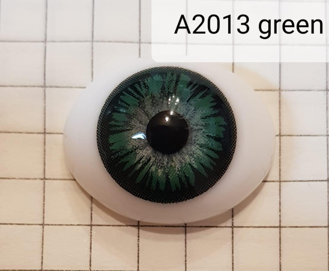 Контактные линзы A2013 Green -5.00 - фото 4