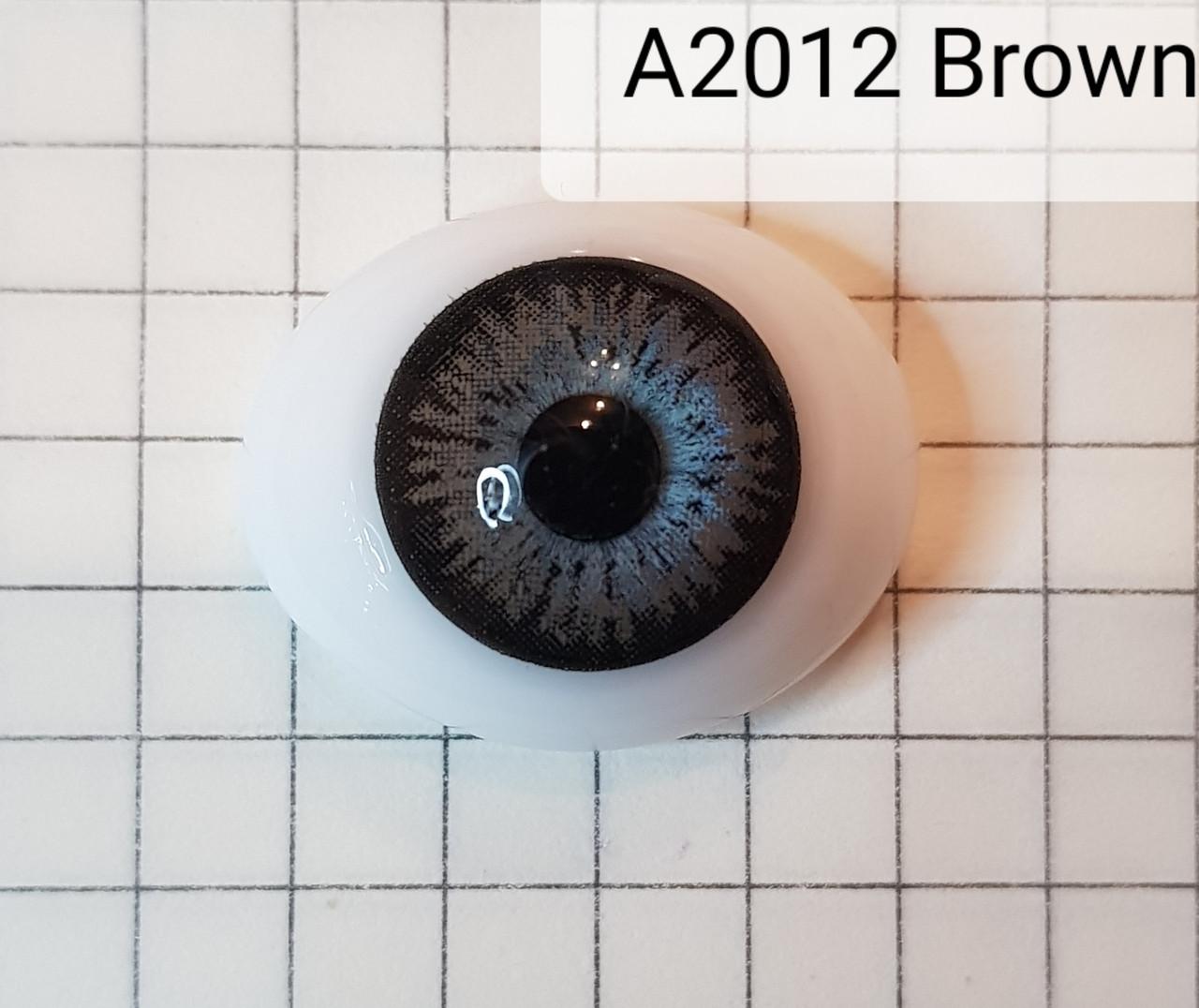 Контактные линзы A2012 Brown -1.25 - фото 3