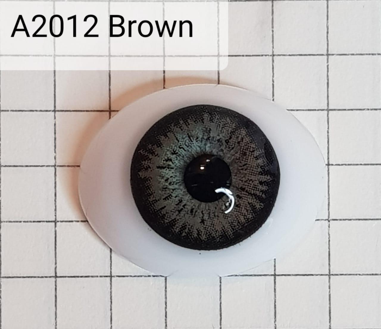 Контактные линзы A2012 Brown -1.25 - фото 4