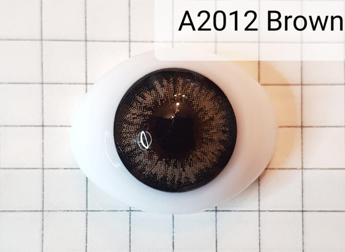 Контактные линзы A2012 Brown -1.25 - фото 5