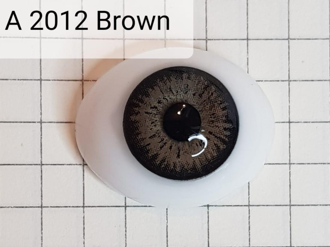 Контактные линзы A2012 Brown -1.25 - фото 6
