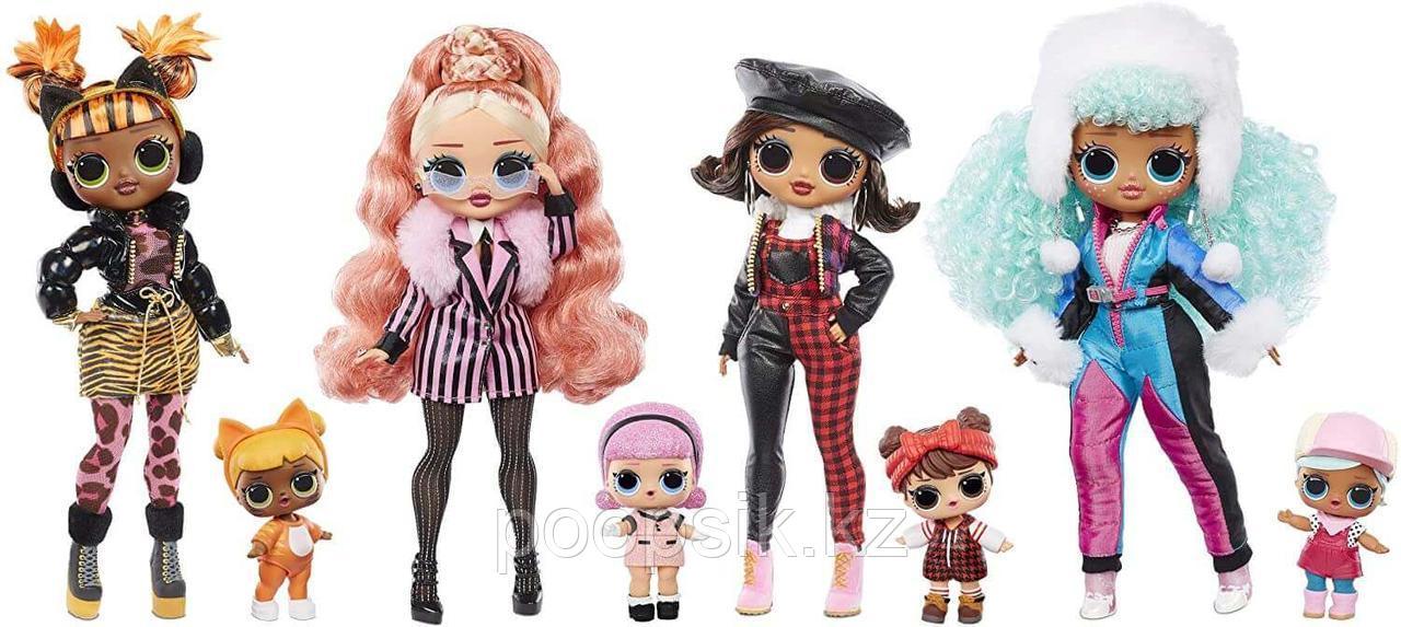 Лол Омг Айс Герл Винтер Чилл 2 куклы Lol Omg Icy Gurl Winter Chill - фото 4