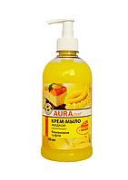 AURA clean Крем-мыло жидкое банановое суфле