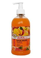 AURA clean Крем-мыло жидкое Манго, маракуйя