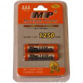 Аккумулятор ААA Модель:  MP AAA1250*2