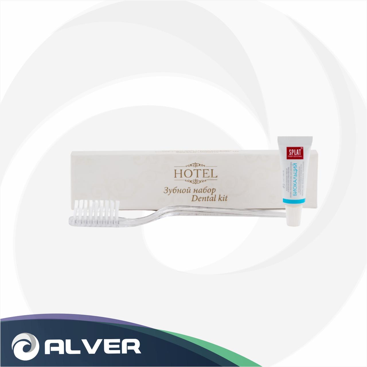 Набор паста+щетка для зубов 2в1 Hotel в коробке 6гр