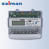 Трехфазный многотарифный счетчик Дала R ТХ IР П RS CA4У-Э720 (3x220/380V 5-7.5A) на дин-рейке