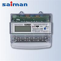 Трехфазный многотарифный счетчик Дала R ТХ IР П RS Д CA4-Э720 (3x220/380V 10-60A) на дин-рейке