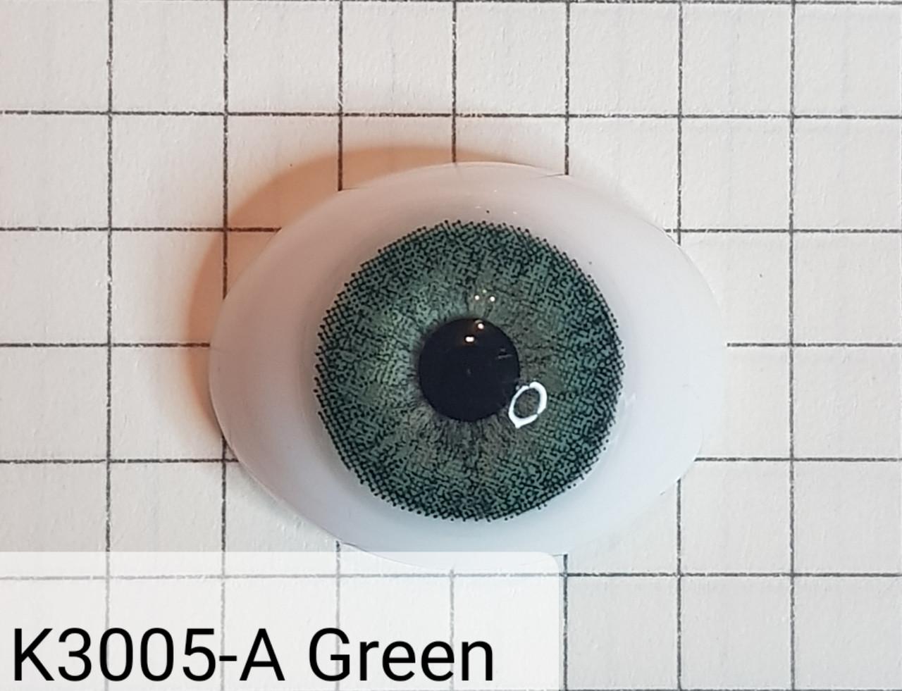 Контактные линзы DOX K3005-A Green -2.00 - фото 3