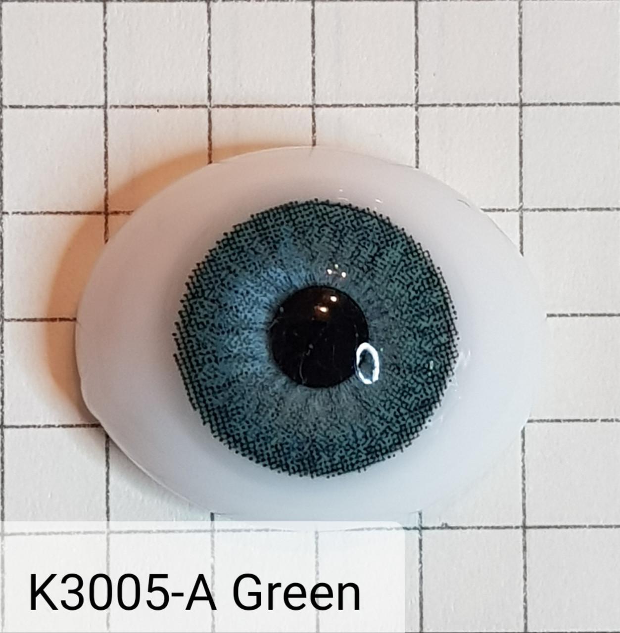 Контактные линзы DOX K3005-A Green -2.00 - фото 4