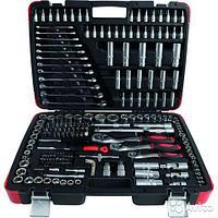 """EF-1050 Everforce Набор инструментов 216 предметов 1/2"""" 3/8"""" 1/4"""" (6 гр)(4-32мм) EVERFORCE EF-1050"""