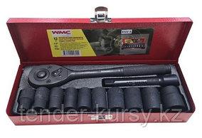 "4122-5 WMC tools Набор инструментов ударных 12 предметов 1/2"" (6гр.)(10-24мм) WMC TOOLS 4122-5"