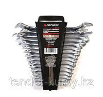 F-5199 Forsage Набор ключей комбинированных и рожковых,16 предметов в пластиковом держателе Forsage F-5199