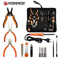 F-8272-14 Forsage Паяльник электрич.-й с набором инструментов и аксессуаров 14