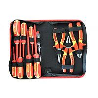 F-05011 Forsage Набор инструмента диэлектрического,12 предметов в сумке Forsage F-05011