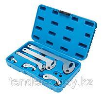 PA-NA1012 Partner Набор ключей для шлицевых гаек,  8 предметов (35 - 120мм) Partner PA-NA1012