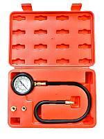 F-912G03 Forsage Тестер давления масла в наборе с резьбовыми адаптерами 3 предмета, (0-7bar), в кейсе Forsage