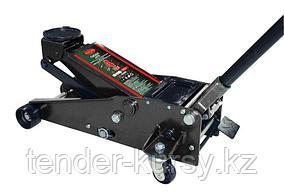 RF-T84008 ROCKFORCE Домкрат подкатной  гидравлический двухштоковый 4т с 3-мя уровнями фиксации(h min 140мм, h