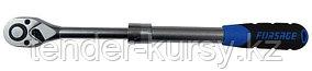 """F-802433 Forsage Трещотка  реверсивная  телескопическая с резиновой ручкой 1/2"""" L310-440мм (72зуб.) Forsage"""