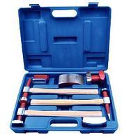 RF-50713B ROCKFORCE Набор инструментов рихтовочных для кузовных работ 7 предметов, в кейсе ROCKFORCE RF-50713B