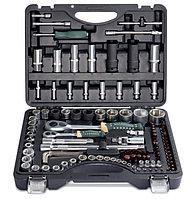 """RF-41082-5 PREMIUM ROCKFORCE Набор инструментов 108+6 предметов1/4""""1/2""""(6гр.)+(гол.-бита1/4"""":T40;биты"""