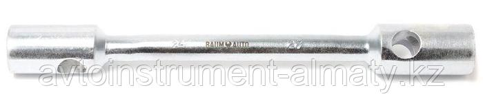 12S.0002730 BaumAuto Ключ балонный торцевой двусторонний усиленный 27x30мм, L-400мм (12S.0002730) BaumAuto