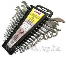 5199 WMC tools Набор ключей комбинированных и рожковых,16
